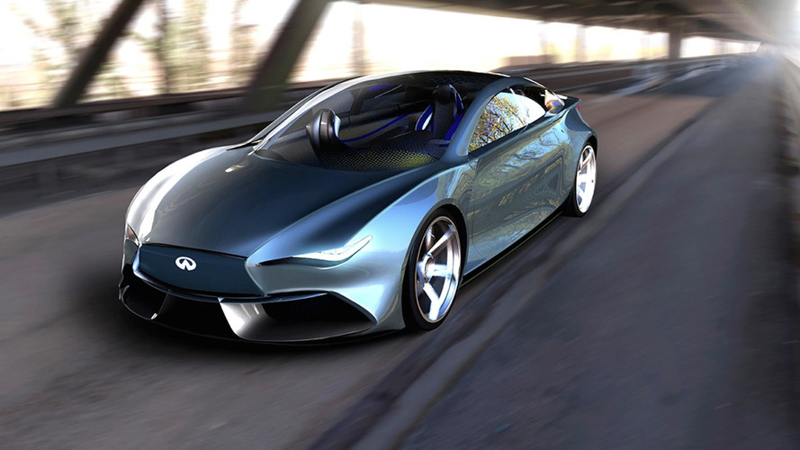 Infiniti Q50 EV Rendering Proposes An Attractive Tesla Competitor