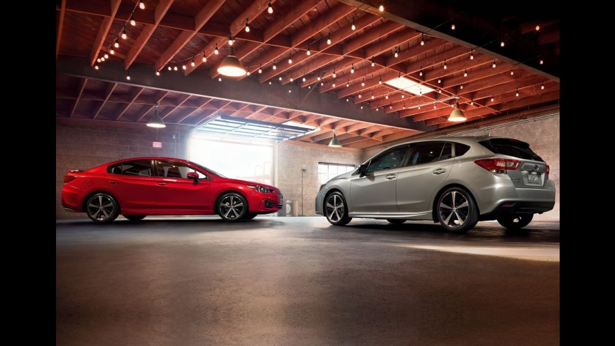 Débuts en fanfare pour la nouvelle Subaru Impreza au Japon