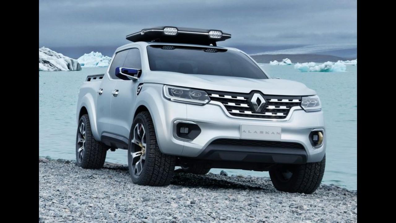 Renault Alaskan: projeção antecipa visual da picape média que chega em 2016