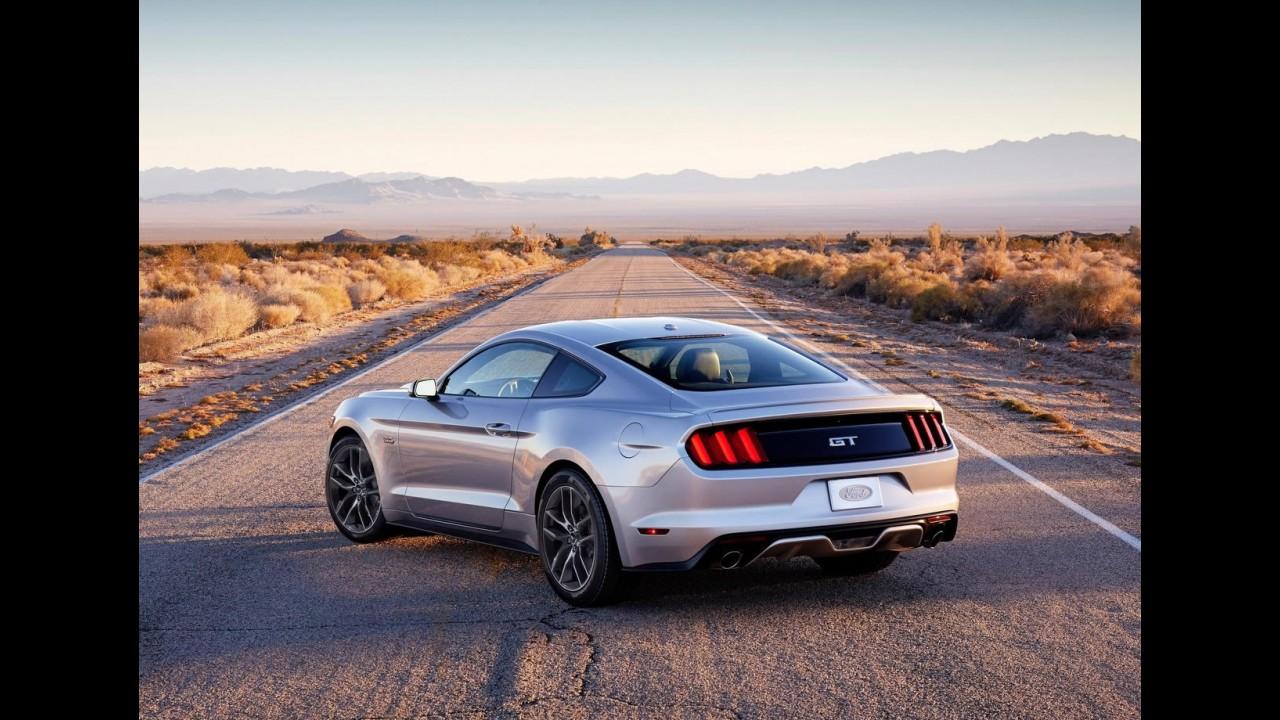 Novo Mustang V8 chega à Coreia do Sul pelo equivalente a R$ 116 mil