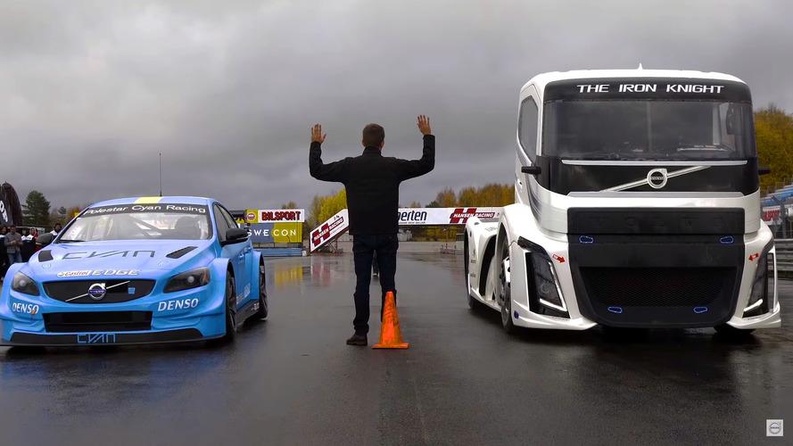 Volvo The Iron Night contra V60 Polestar, ¿quién ganará?