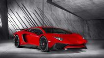 Lamborghini Aventador Superveloce rojo