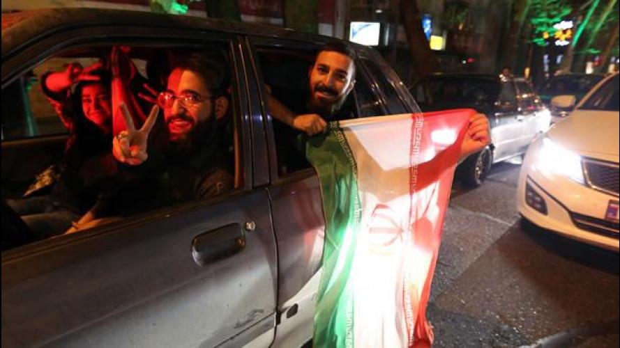 Iran, si apre un mercato nuovo per le quattro ruote