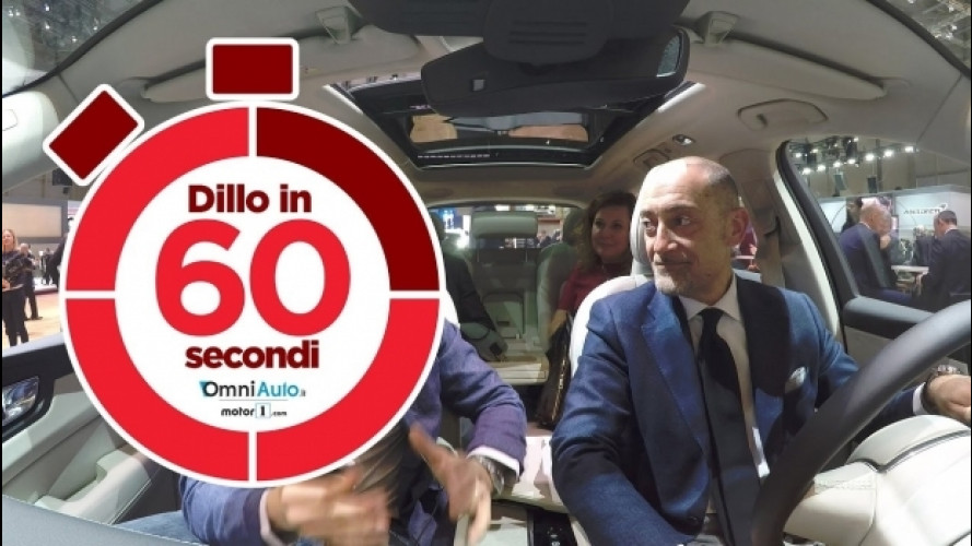 Salone di Ginevra, Volvo XC60: una scelta sicura [VIDEO]