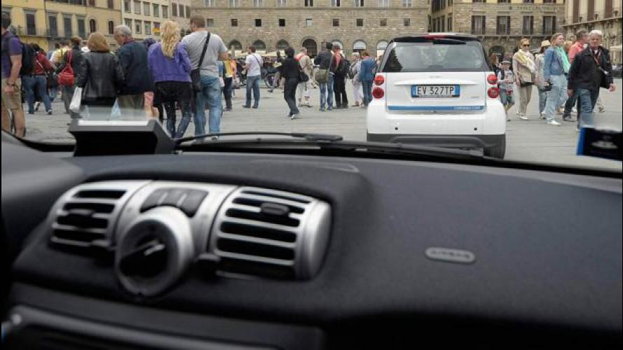 Daimler, le smart del car2go parcheggeranno da sole