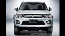 Mitsubishi L200 Triton 2010 - Pick-up ganha leve reestilização na Tailândia