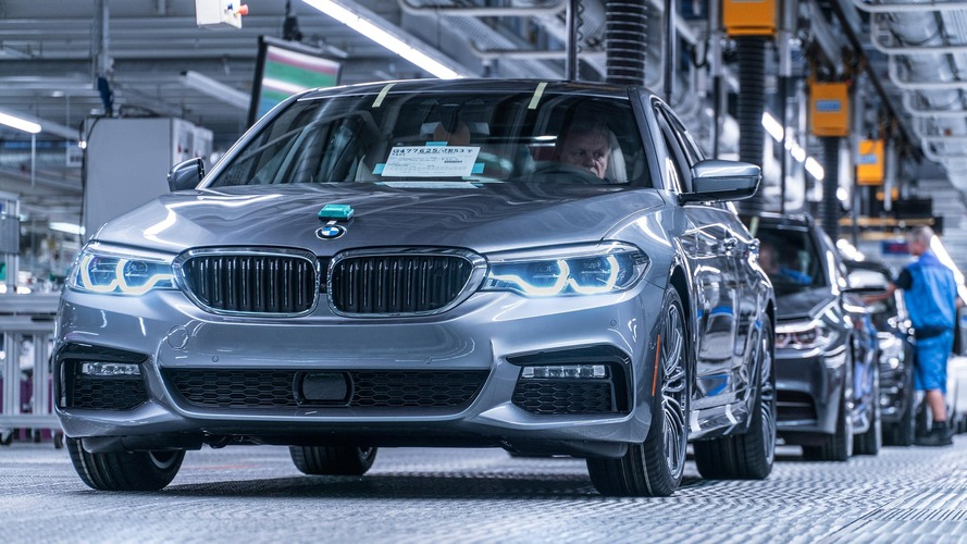 Belle progression des ventes de BMW en octobre