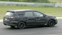 New Ford Mondeo Station Wagon Spy Photos
