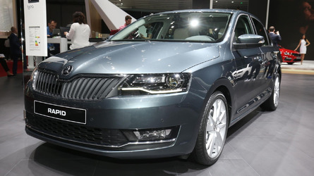 2017 Skoda Rapid brings sophisticated facelift to Geneva
