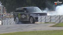 Range Rover Sport SVR at 2017 Goodwood Festival of Speed