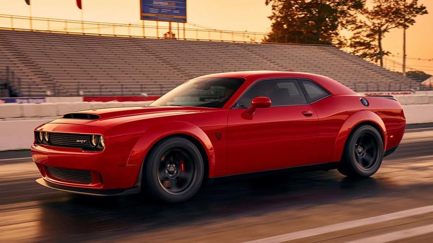 1.000 cv! Dodge Challenger SRT Demon tem fotos oficiais vazadas