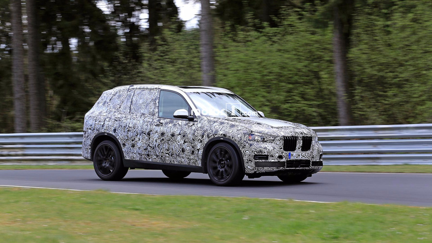 Next-Generation BMW X5 Test Mule Spied On Track