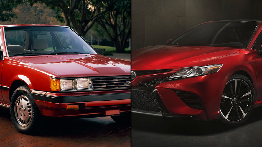 Toyota Camry: How It Has Changed Through The Years