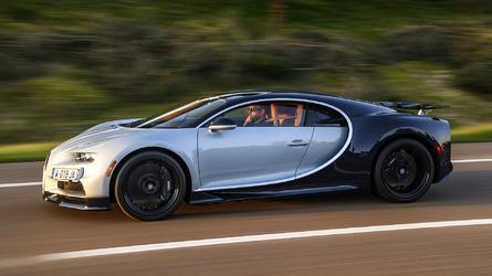 2018 Bugatti Chiron İlk Sürüş