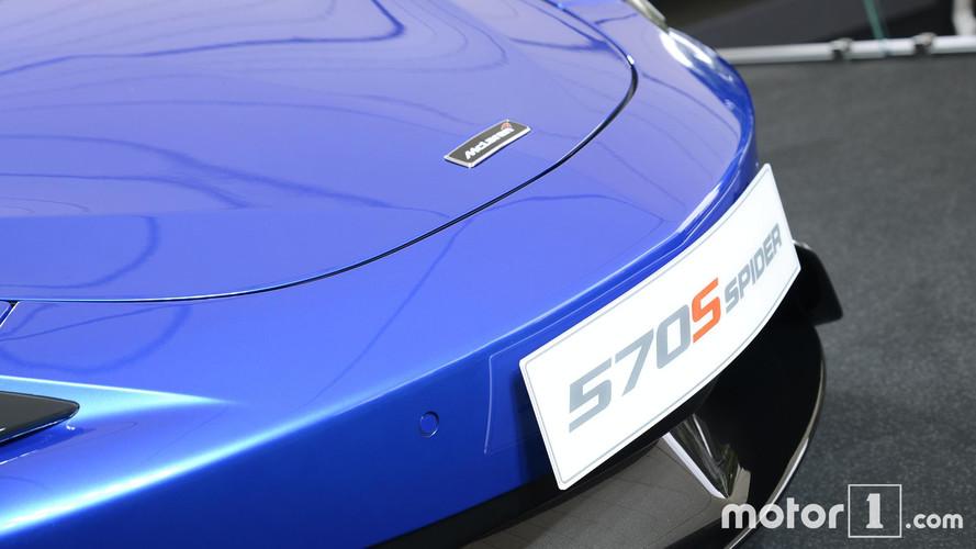 2017 McLaren 570 S Spider Goodwood