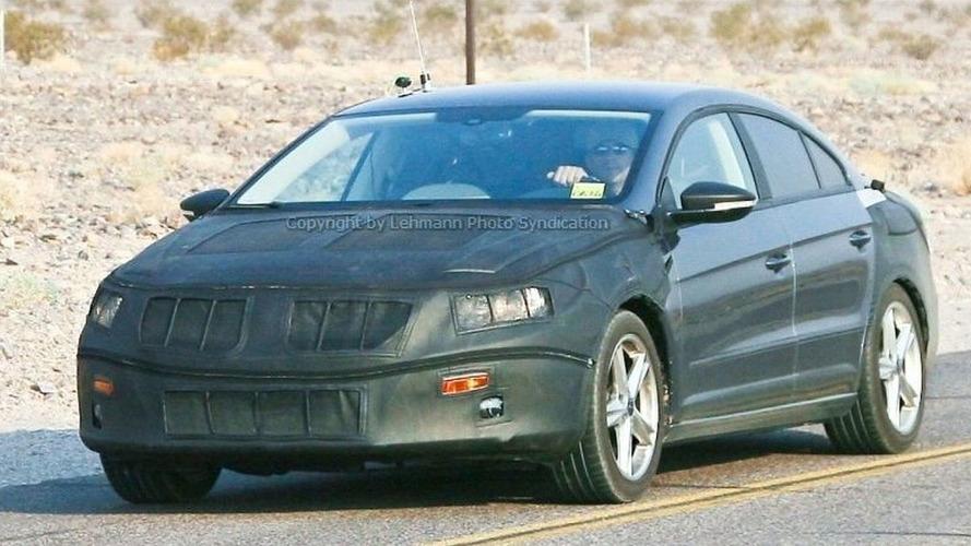 Volkswagen's Passat Coupe Spied Again