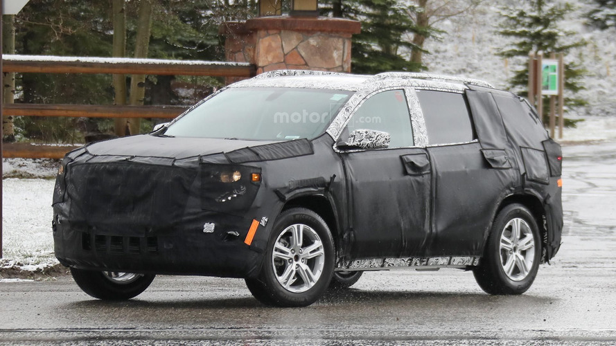 2018 GMC Terrain spied ahead of a possible debut later this year