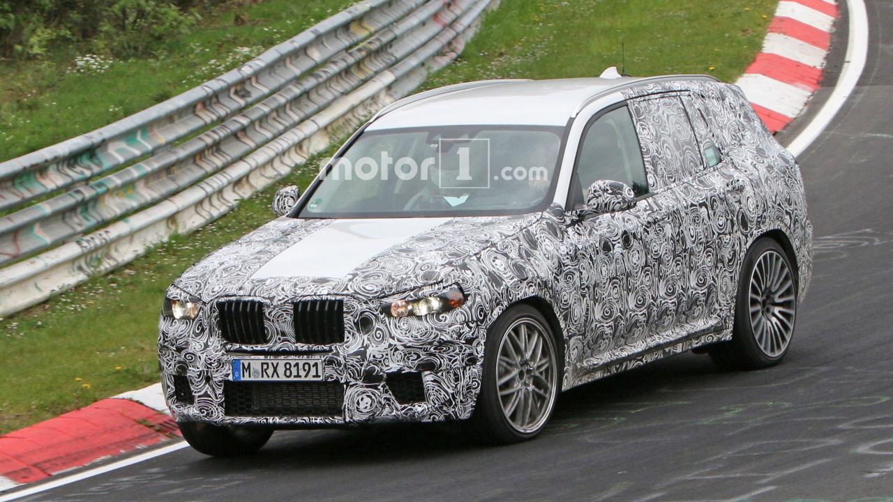BMW X3 M Spy Photo