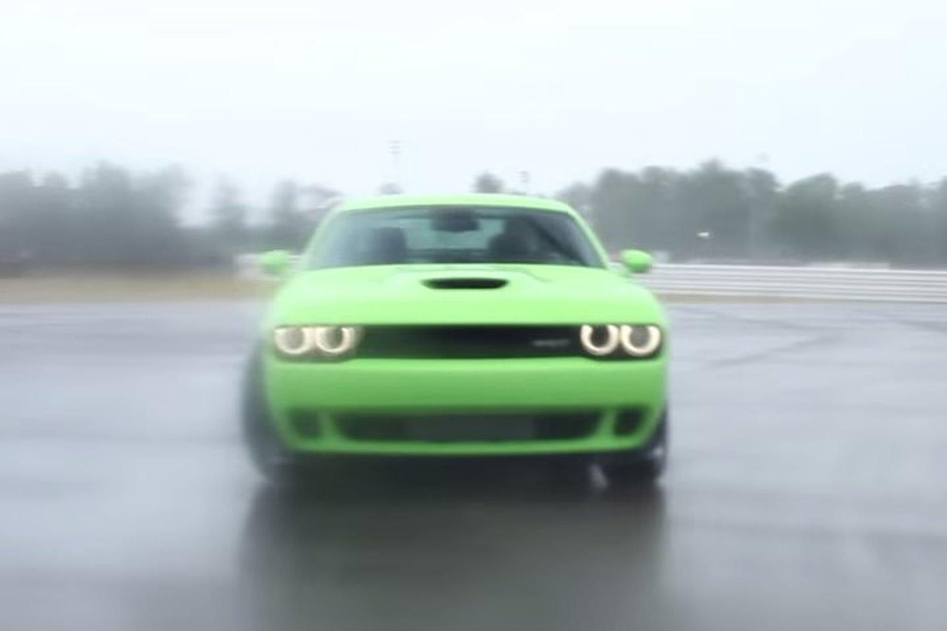 Matt Farah Gets Sideways in the Dodge Challenger Hellcat [Video]