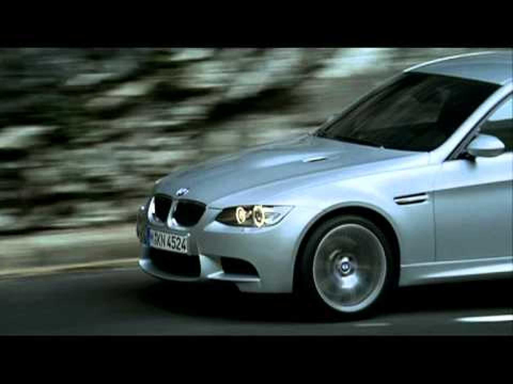 BMW M3 Sedan - promo video