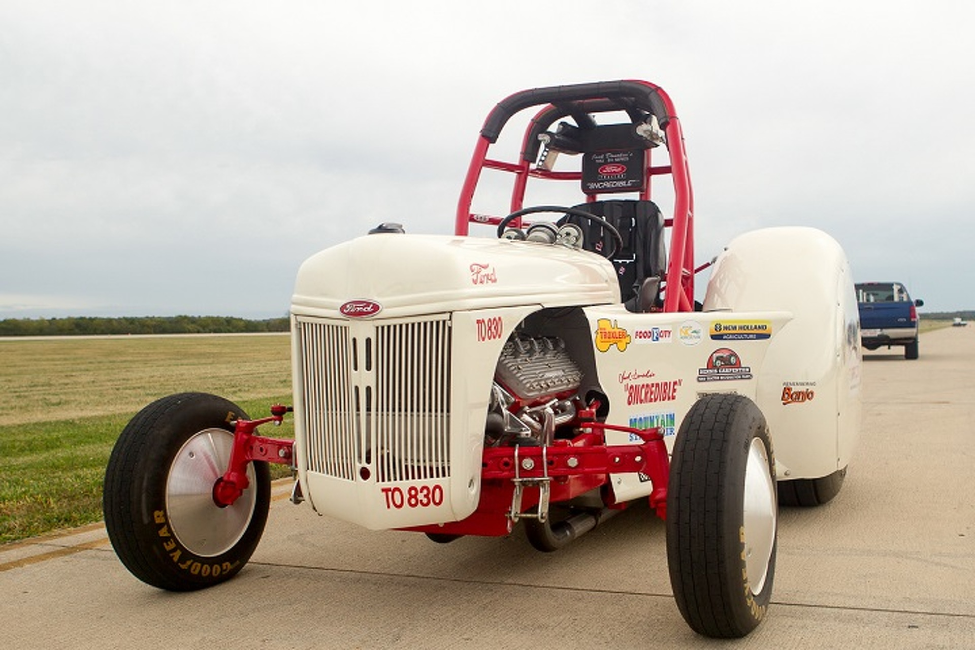 """Behold """"8NCredible,"""" The1952 Ford 8N Tractor That Hits 96 MPH"""