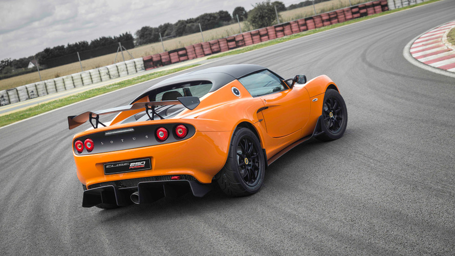 Lotus Elise Race 250 is the most track-focused Elise ever built