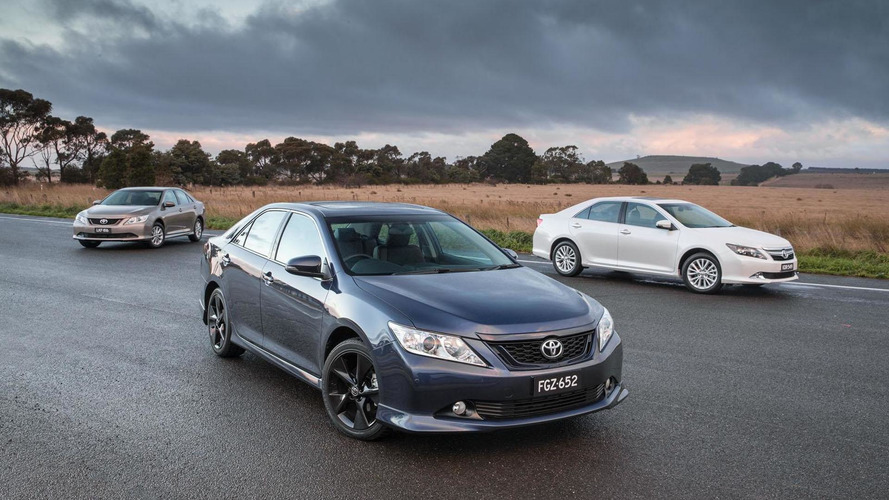 2015 Toyota Aurion unveiled in Australia