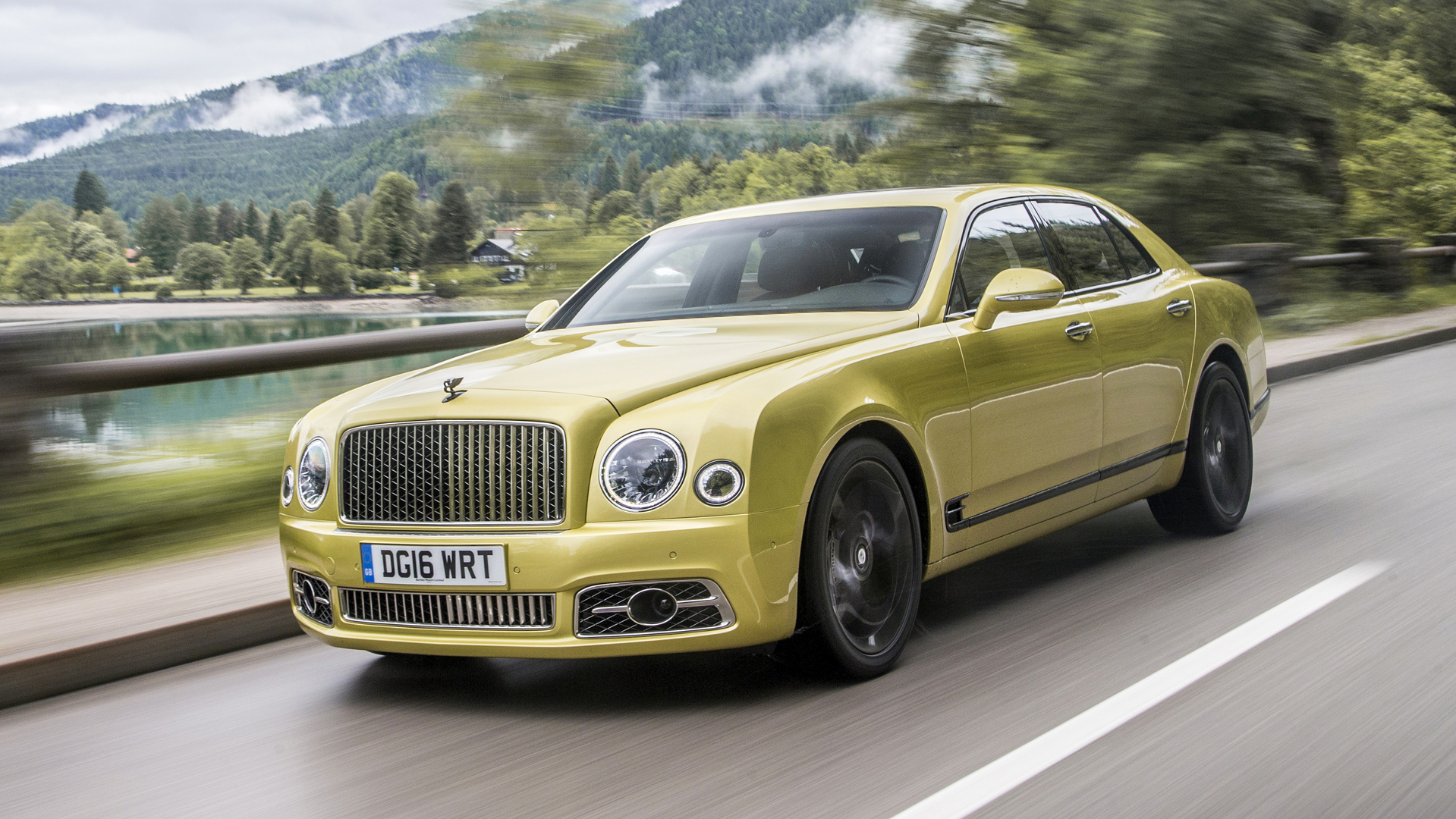 First Drive 2017 Bentley Mulsanne