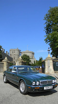 Daimler Super V8 LWB owned by Queen Elizabeth II 30.7.2013
