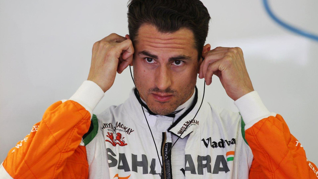 Adrian Sutil 26.07.2013 Hungarian Grand Prix