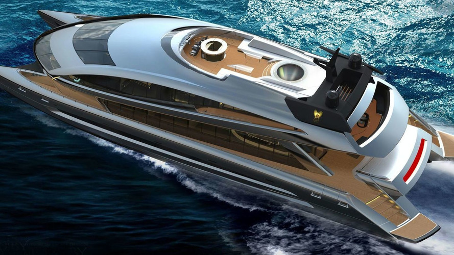 Porsche Design Styles Revolutionary Power Catamaran
