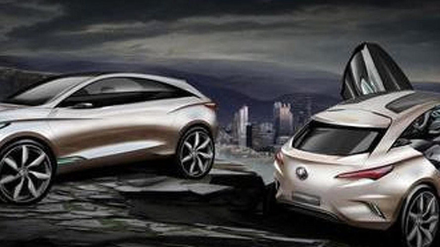 Buick Envision concept leaked