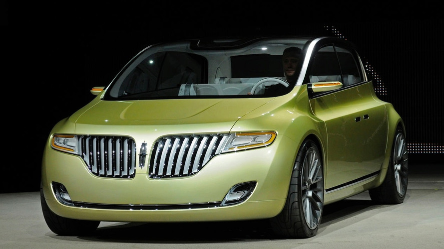Lincoln Concept C Unveiled in Detroit