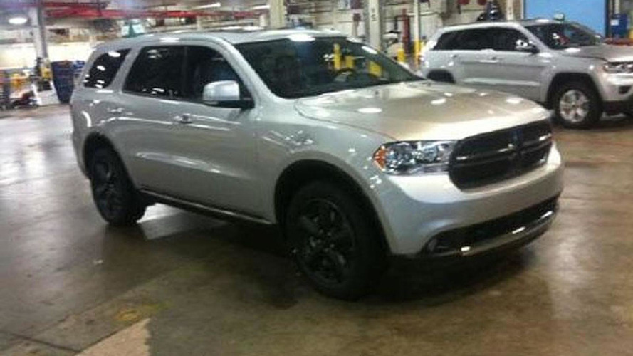 2012 Dodge Durango / Magnum spied uncovered