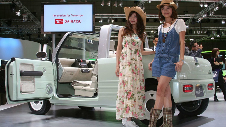 Daihatsu Basket Concept Shows its Weave in Tokyo
