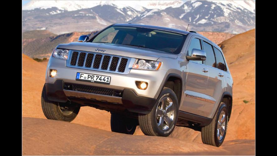 Jeep in Genf: Grand Cherokee als Diesel und mehr