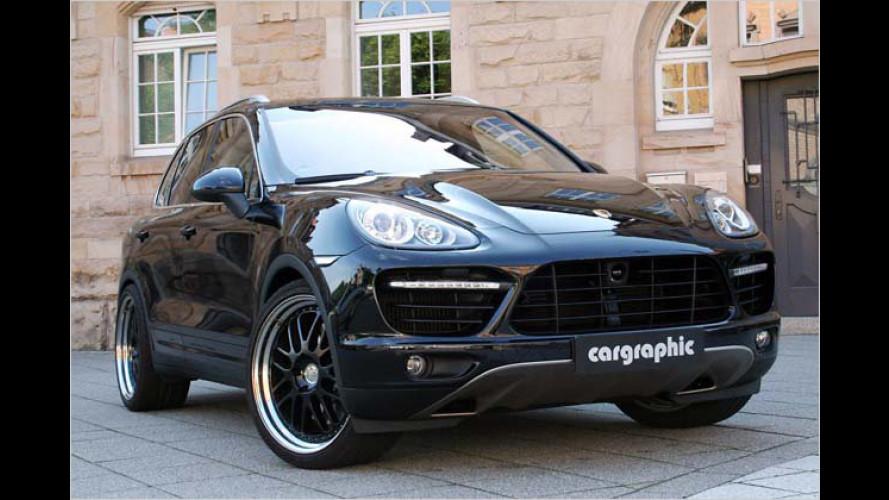 Feine Klangkunst: Cargraphic tunt neuen Porsche Cayenne