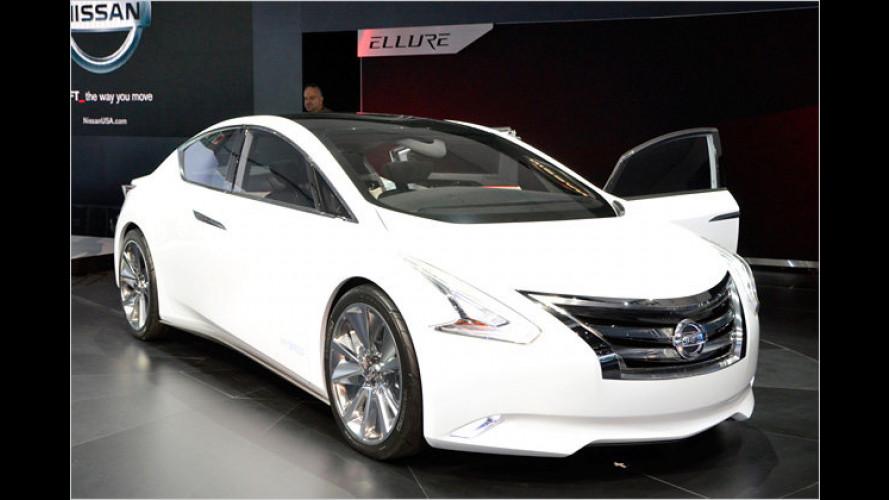 Nissan Ellure: Schnittige Limousine