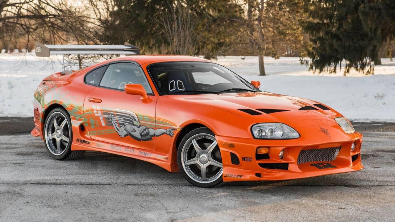 Toyota Supra, A todo gas