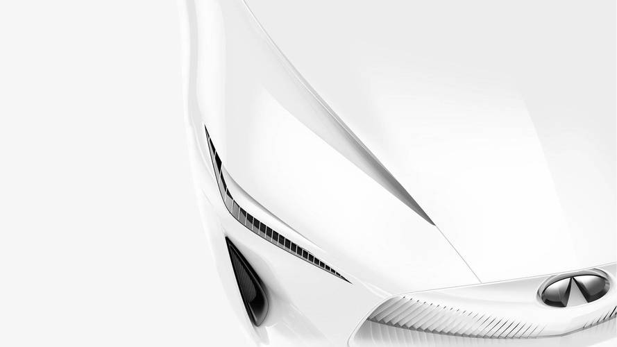Infiniti Teaser Provides First Look At Sleek Concept For Detroit