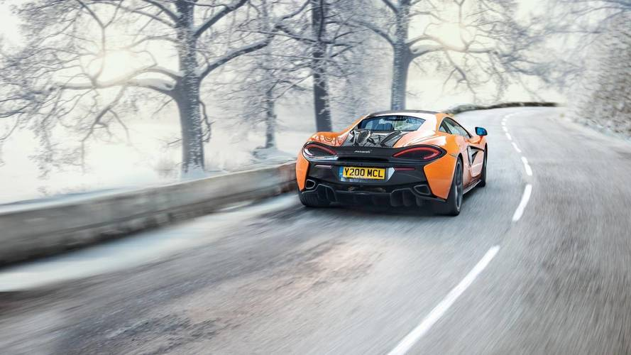 McLaren And Pirelli Develop Winter Tires For Sport Series Cars