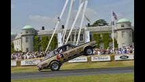 Goodwood Festival of Speed 2013 hanno partecipato numerose auto in diverse categorie, tra cui i dragster