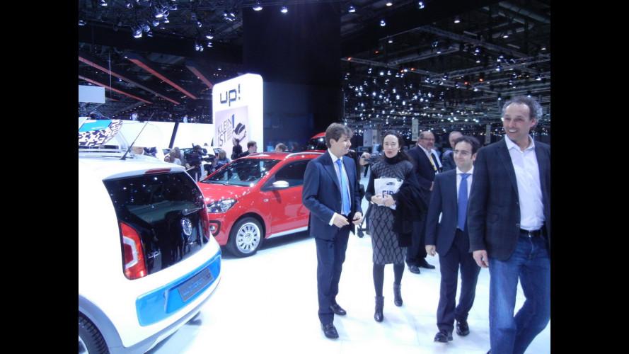 A Ginevra Fiat fa visita a Volkswagen