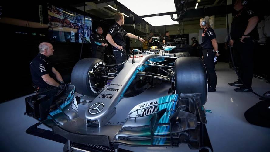 How Big Is A Formula 1 Mercedes Car?