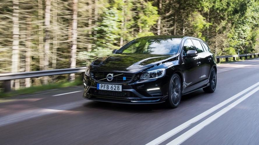 2018 Volvo S60 ve V60 Polestar'a karbon fiber aero paketi