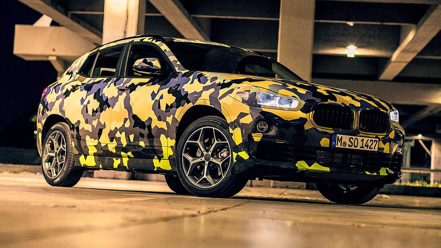 BMW X2 Digital Camouflage
