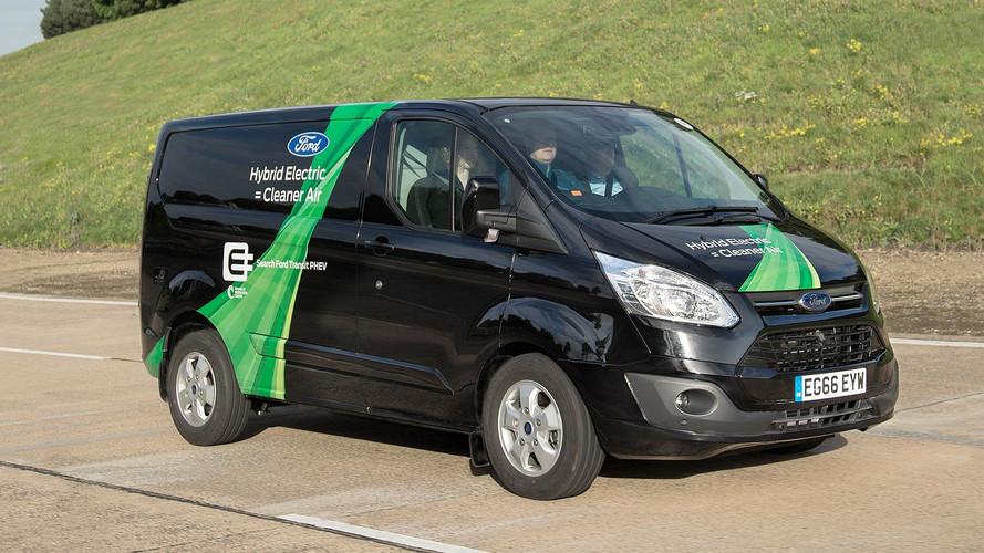 Ford Transit Plug-In Hybrid Londra sokaklarına ayak bastı