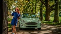 Dobó Kata és az új Ford Fiesta