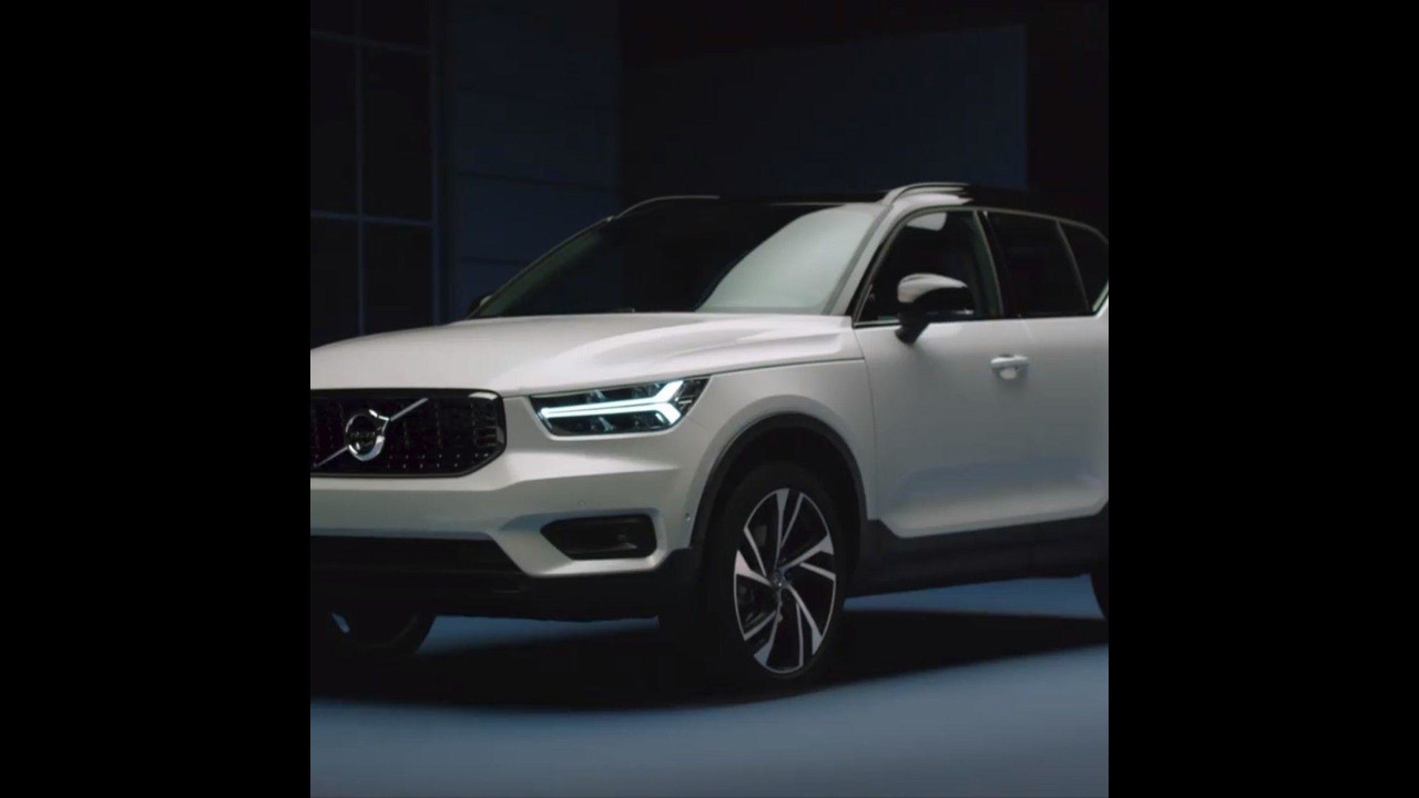 2018 Volvo XC40 revealing screenshots from teaser video | Motor1.com Photos