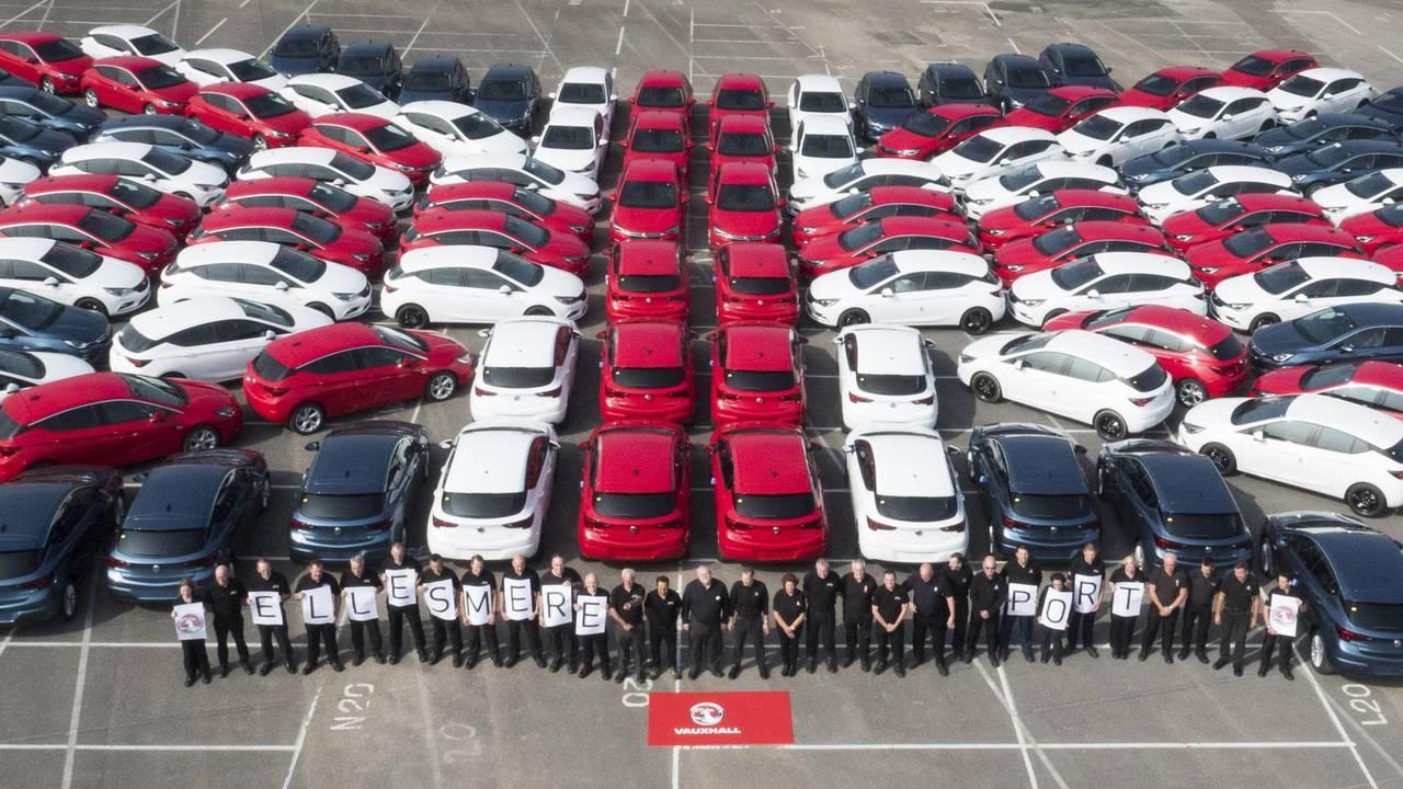 Vauxhall Astra Union Flag Ellesmere Port
